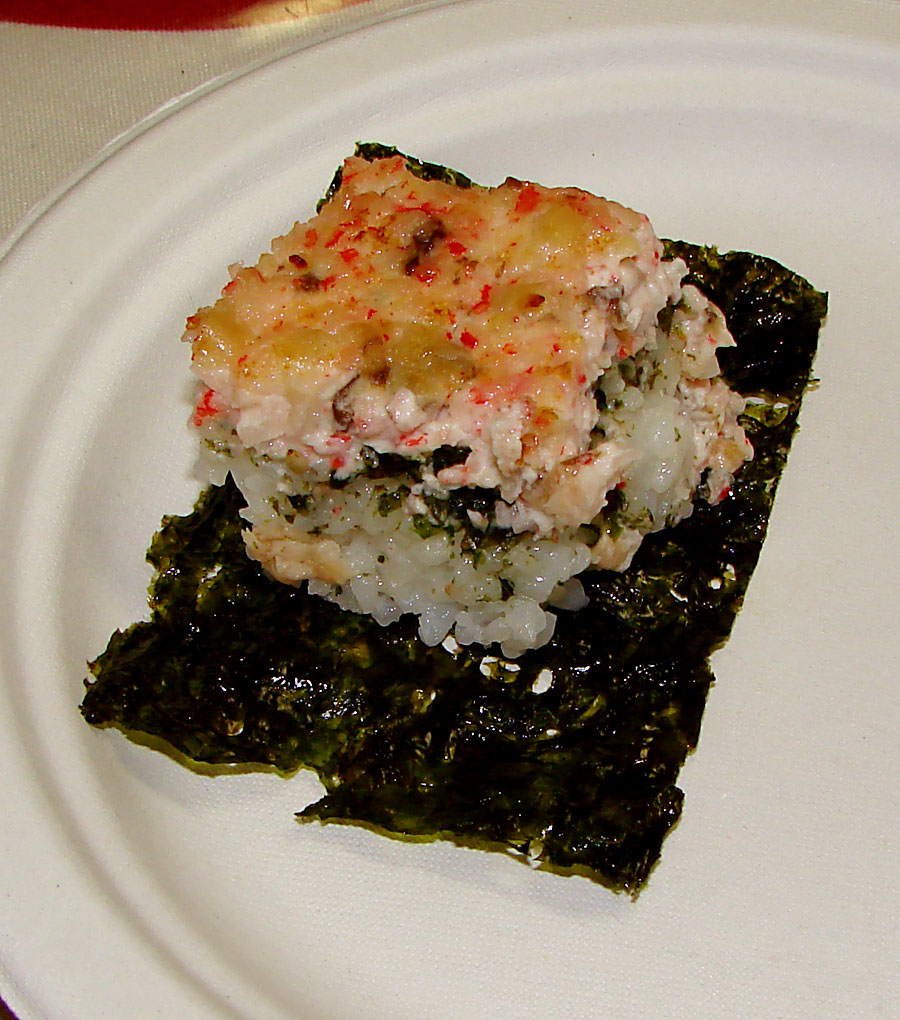 recipe: crab meat sushi filling [21]