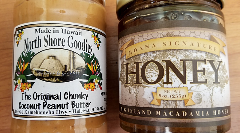 Product Review: North Shore Goodies Original Chunky Coconut Peanut Butter & Moana Signature Big Island Macadamia Nut Honey