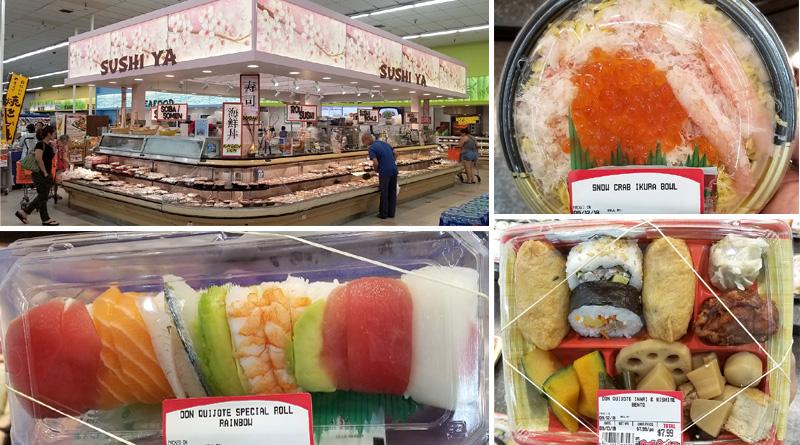 New Okazu, Bento and Sushi Ya at Don Quijote