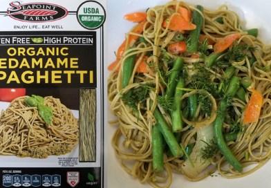 Costco Eats: Seapoint Farms Organic Edamame Spaghetti