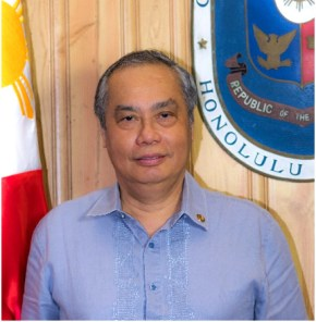 Joselito A. Jimeno - Consul General of the Republic of the Philippines Honolulu