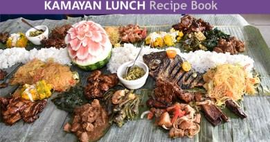 Kamayan Lunch Recipe Book