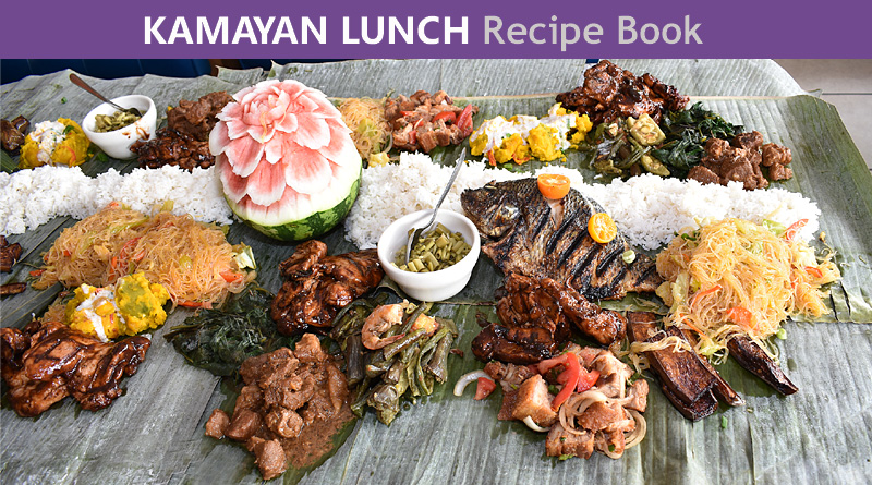 Kamayan Lunch Recipe Book