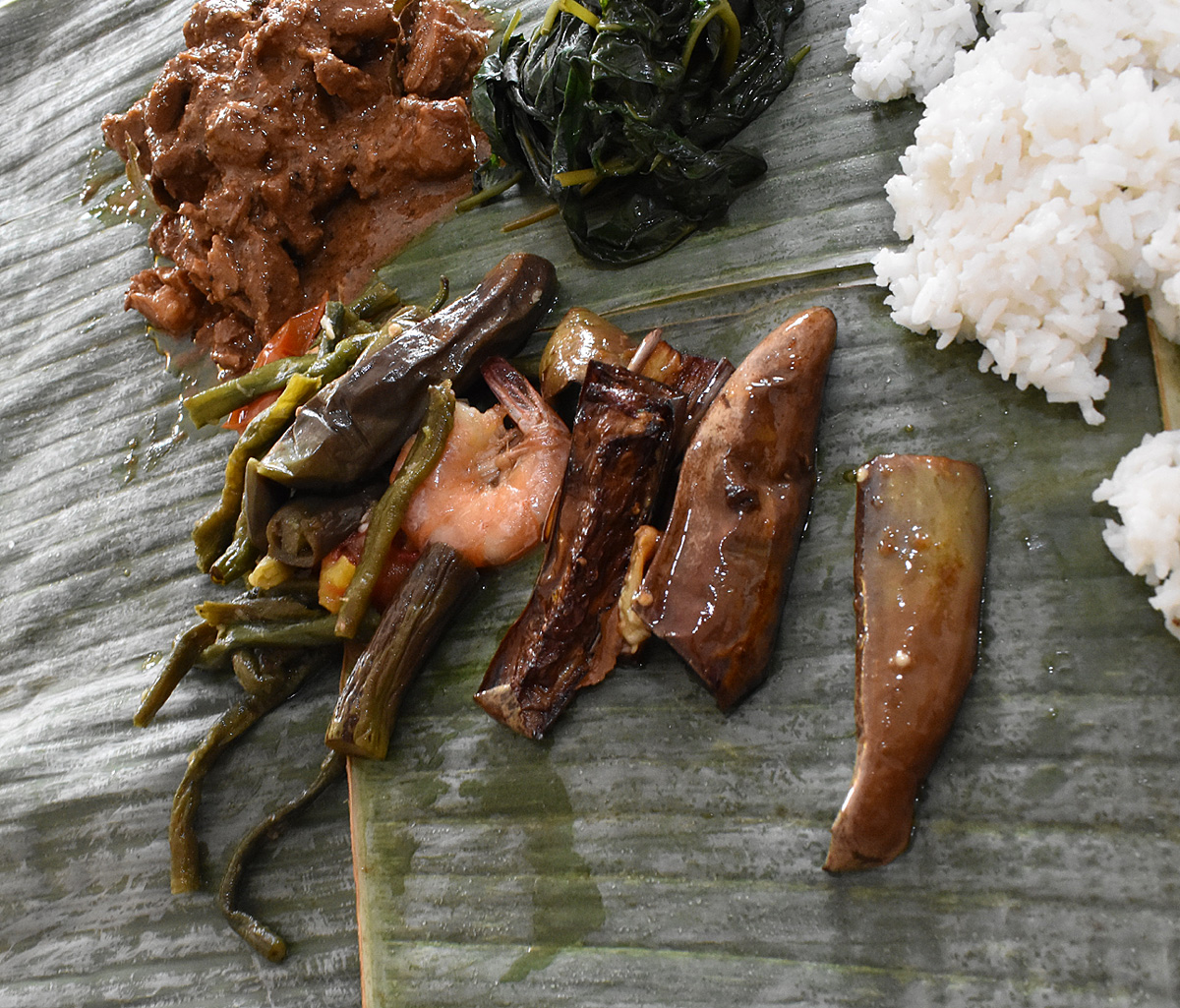 Pinakbet and Eggplant Adobo