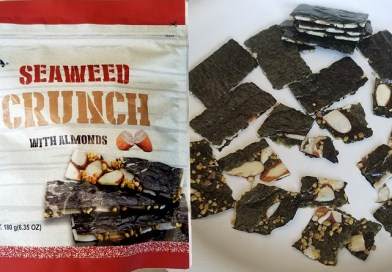Costco Eats: Seaweed Crunch with Almonds