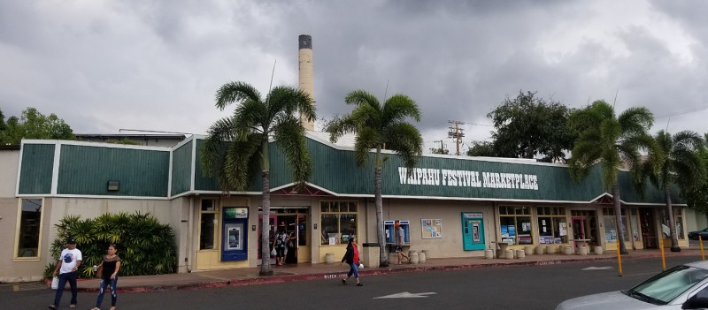 Dana's Restaurant & Catering shares the same parking lot with Waipahu Festival Marketplace, near to Sato's Okazuya