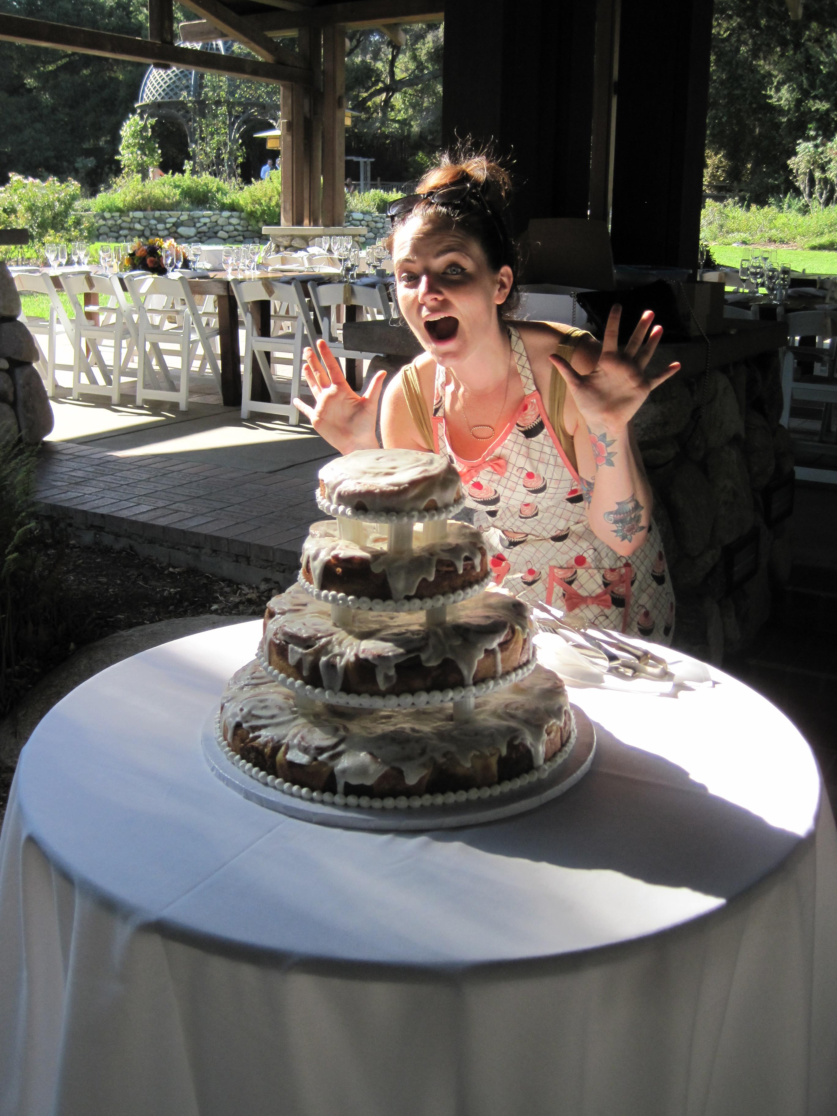 Cinnamon Roll Wedding Cake  Tasty Kates