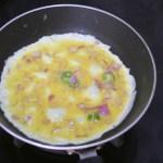 Kerala Omelette with Pepper