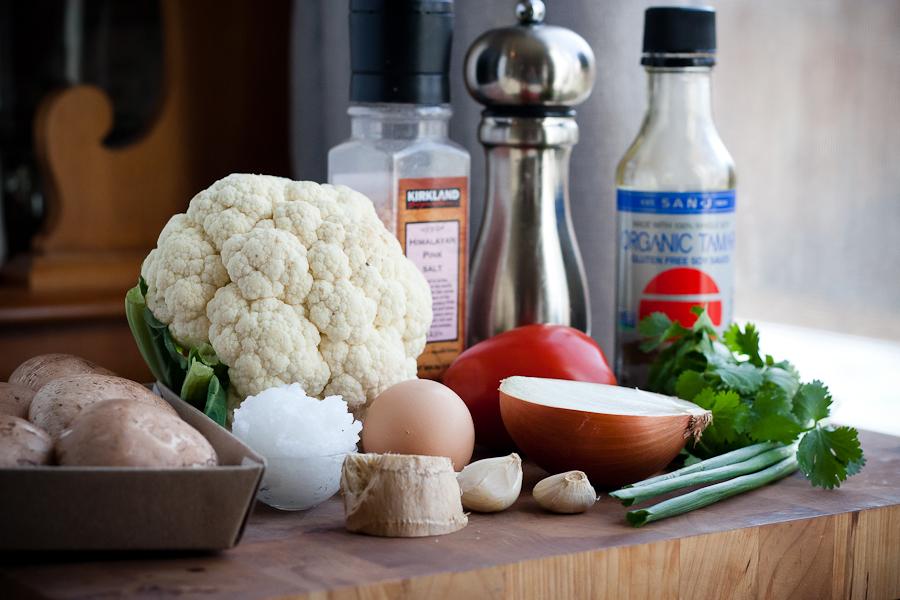 cauliflower fried rice tasty kitchen