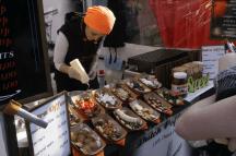 Food seller @ Camden Market