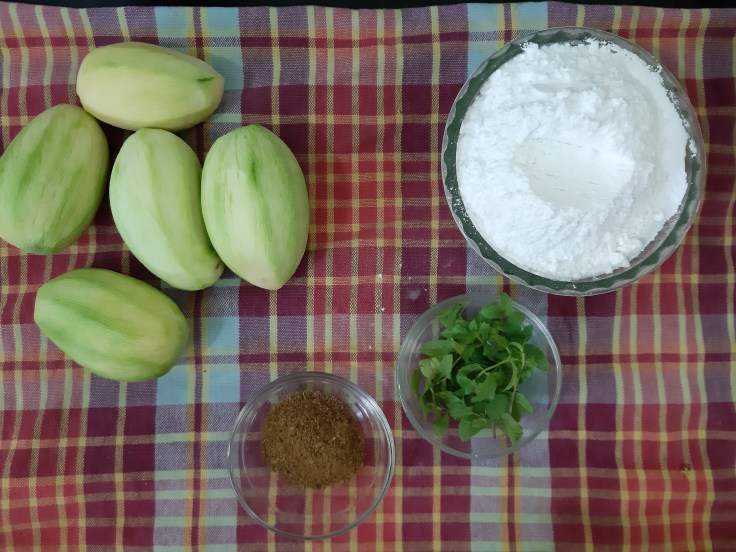 Ingredients for mango drink