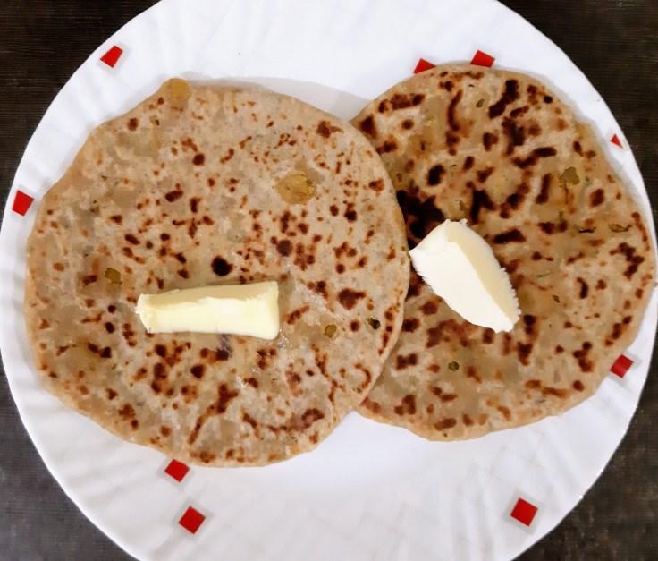 Chickpeas Paratha