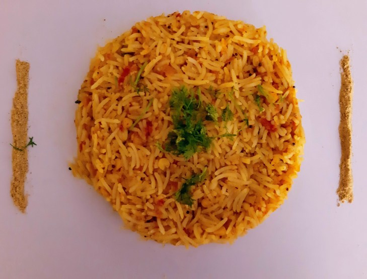 Thakkali Sadam/Tomato Rice