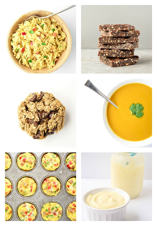 Clean Eating Meal Prep - Top 10 Tips & Foods -Save time and money with these prep tips and recipes for a week of clean, whole food meals. | tastythin.com