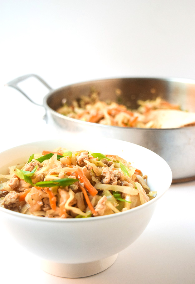 egg roll in a bowl paleo whole30