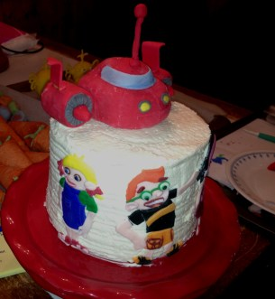 "The ""Rocket Cake"""