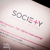 Society (Yaletown) [Short Review]