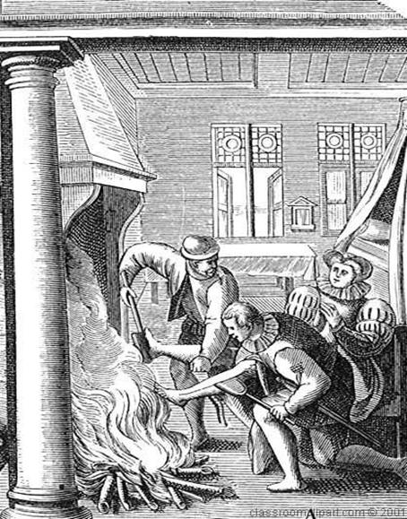 When Gibraltar burned…