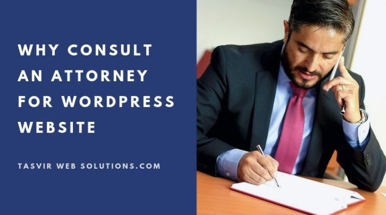 Why Consult an Attorney for WordPress Website