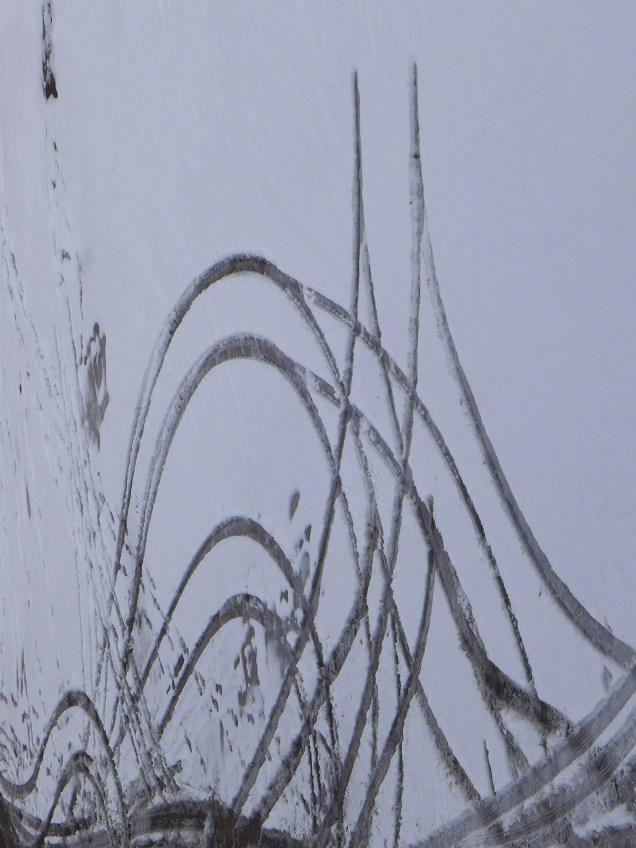 Snow painting