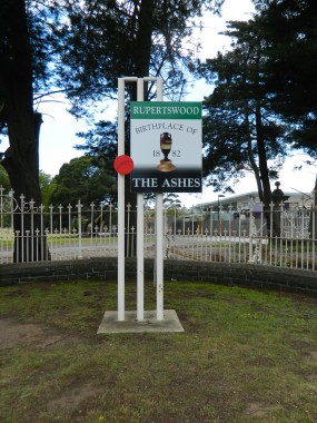 Sunbury, Victoria, birthplace of the Ashes.