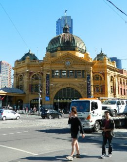 Flinders St Station Melbourne