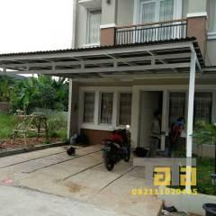 Harga Kanopi Baja Ringan Atap Polycarbonate Di Jakarta,bogor,depok,tangerang Dan Bekasi
