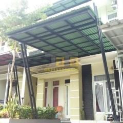 Pasang Canopy Baja Ringan Depok Pemasangan Kanopi Di Pendowo Mansion Hills