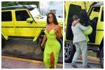 Kanye West Surprises Kim Kardashian With-Neon-green-SUV