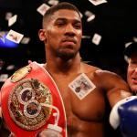 Anthony Joshua British Boxer Wins Povetkin Via Knockout