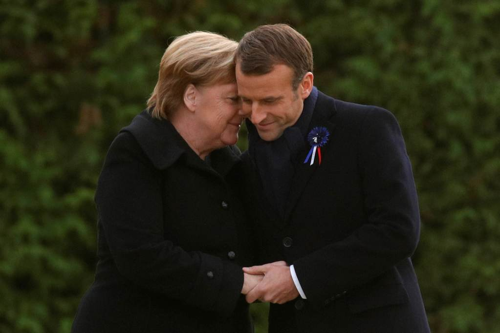 France and Germany Leaders in Poignant Show of Unity 100 Years after WW1