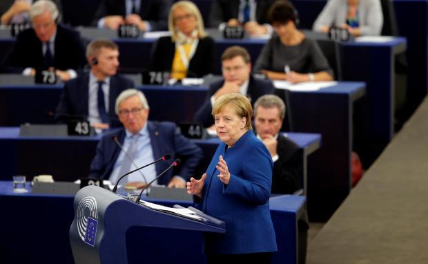 Angela Merkel Calls for a European Union Military