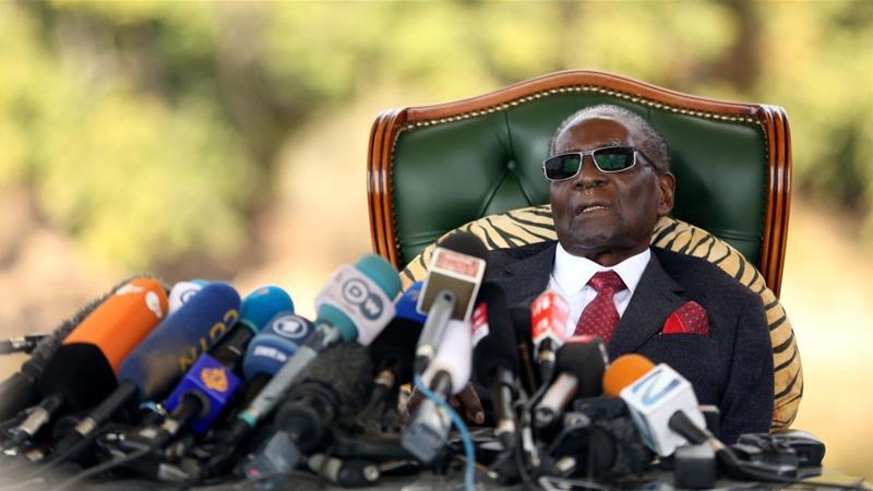 Ex-Zimbabwe President Mugabe 'Unable to Walk'