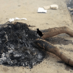 Man Burnt To Death For Stealing Battery (Photos)