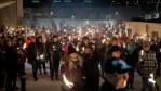 Moroccans' Vigil for Slain Nordic Hiker