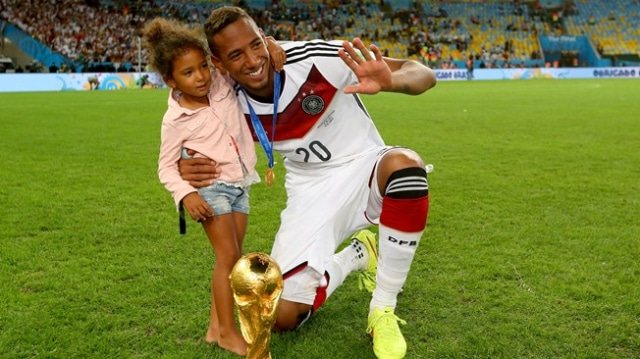Germany Star Jerome Boateng arrives in Ghana for Historic first-time visit with Daughters