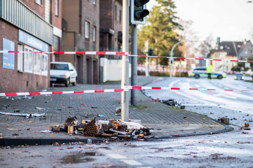 Bottrop, Germany attack: Man drives Mercedes into Foreigners