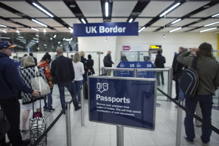 Visa-free travel proposed for UK nationals after Brexit
