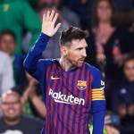 Real Betis fans bow down as Messi drives Barcelona towards Liga title