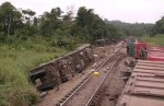 Train crash in DR Congo kills 24, about 30 Injured