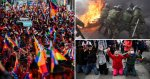 Bolivia crisis: Five dead in pro-Morales protest