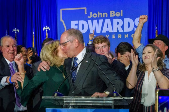 John Bel Edwards Declared winner of Louisiana governorship election
