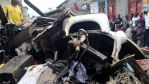 DR Congo plane carrying 18 people crashes into homes