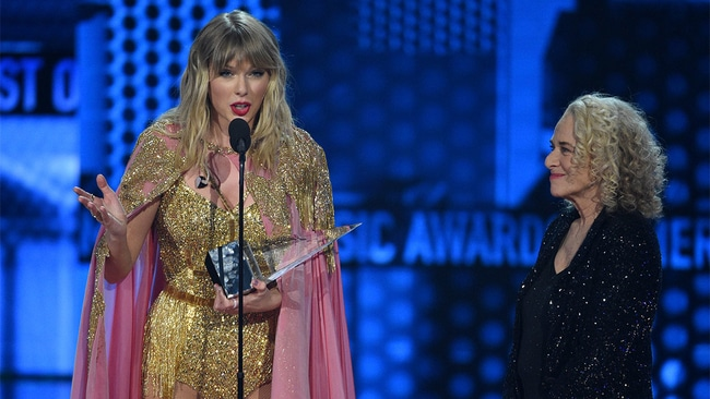 Taylor Swift shatters Michael Jackson's record with 29 AMAs within 15 years