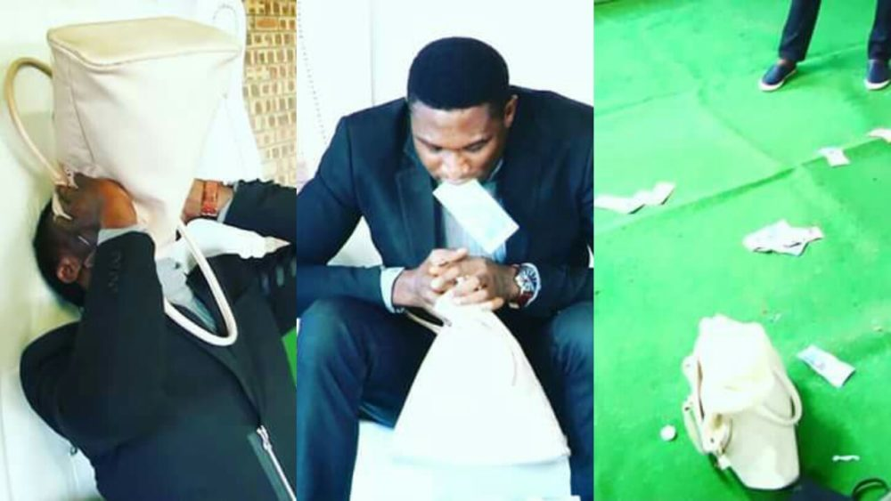 Pastor Arrested For Vomiting 'Miracle Money' Inside Church In South Africa (Video)