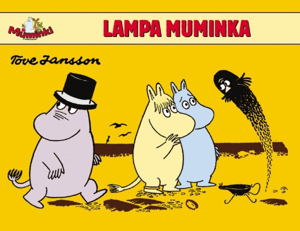 Muminki. Lampa Muminka #TataMariusz; Fot. w.bibliotece.pl