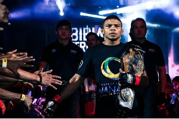 Bibiano Fernades defenderá seu título no dia 5 de agosto, em Macau, na China (Foto Divulgação)