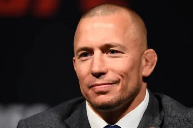 Plano do UFC é ter St-Pierre disputando o cinturão em novembro, contra Woodley ou Demian (Foto Getty Images)