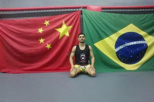 Eric Guimarães contou sobre sua trajetória e o que o mundo da luta o proporcionou (Foto Divulgação)