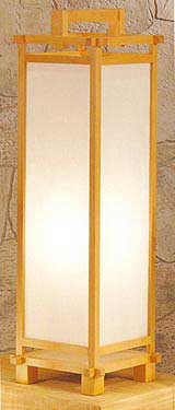 Shoji Lamps, Japanese Lamps